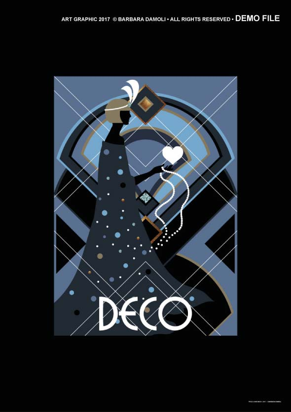 Love deco the glamour of art deco on art online shop for Art deco online shop
